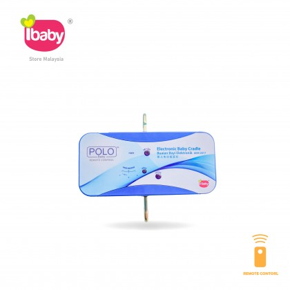 I-BABY Polo Remote Controll Electronic Baby Cradle Polo Remote Controll Buaian Baby Buai Bayi Elektrik