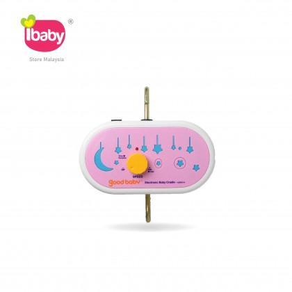 I-BABY Good Baby Pink Electronic Baby Cradle Good Baby Merah Muda Buaian Baby Buai Bayi Elektrik