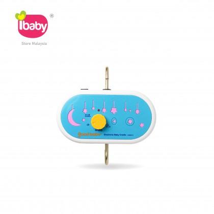 I-BABY Good Baby Blue Electronic Baby Cradle Good Baby Biru Buaian Baby Buai Bayi Elektrik